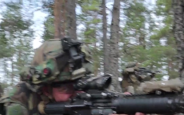 Marines in Finland for Arrow 19