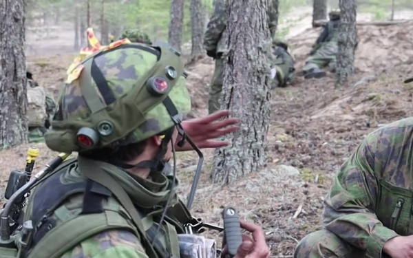 Marines in Finland for Arrow 19 (1x1 Version)