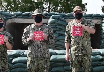 Camp Lemonnier Sailors Send Valentine's Day Message