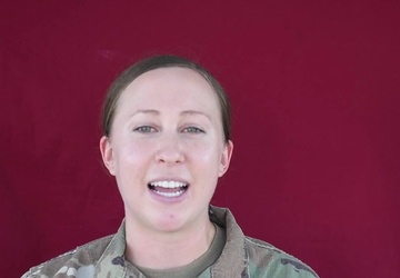 Anoka, Minn., Soldier Sends Women's History Month Message