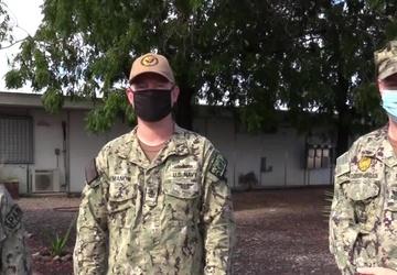 DEOMI Shoutout from U.S. Navy Sailors at Camp Lemonnier