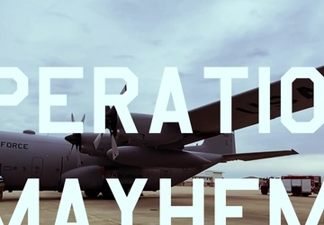 166th Airlift Wing Operation Mayhem (Exercise)
