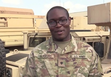 Bridgeford, Conn. Soldier sends a Mother's Day Message