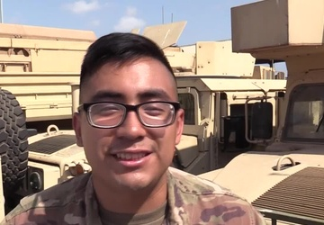 Hartford, Conn. Soldier Sends a Mother's Day Message