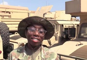 Bridgeport, Conn. Soldier Sends a Mother's Day Message