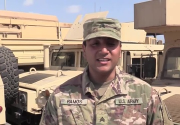 Meriden, Conn. Soldier Sends Mom a Mother's Day Message