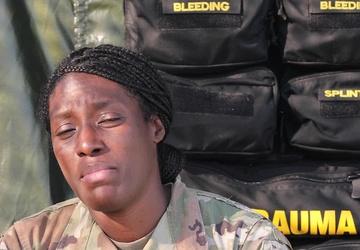 Sgt. Sarah Waggoner DEFENDER-Europe 21 Shoutout