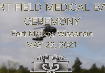 Expert Field Medical Badge event hosted by Army Reserve Medical Command at Fort McCoy, WI
