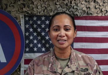 Lt. Col. May De Gala-Losee's Father's Day Shoutout from Kuwait