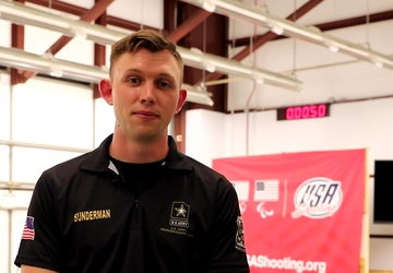 Interview with 2021 Olympian Sgt. Patrick Sunderman, right after making Team USA