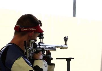 2021 Olympian Sgt. Patrick Sunderman, b-roll of Olympic Trials' Finals