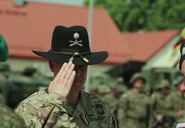 Enhanced Forward Presence-Battle Group Poland transfers authority to National Guard's 3rd Battalion, 161st Infantry Regiment