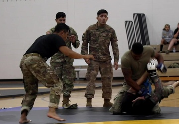 Week of the Eagles combatives finals