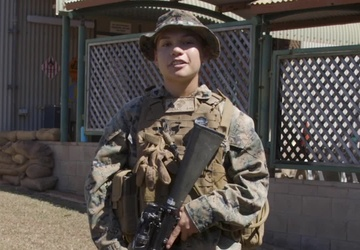 4th of July shout-out Cpl. Denise Doyle