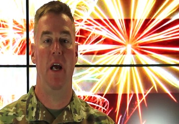 Independence Day message from Brig. Gen. Christopher Beck, SWD commander