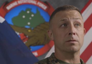 MRF-D Commanding Officer Col. Banning Interview (Close Medium Shot)