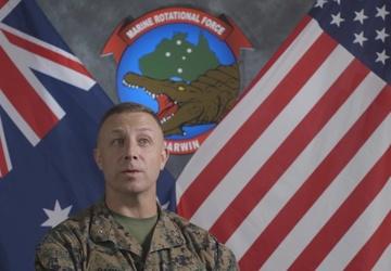 MRF-D Commanding Officer Col. Banning Interview (Medium Shot)