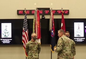 U.S. Army Central Best Warrior Competition Award Ceremony