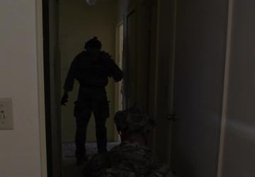 1SOCES EOD hostage training exercise
