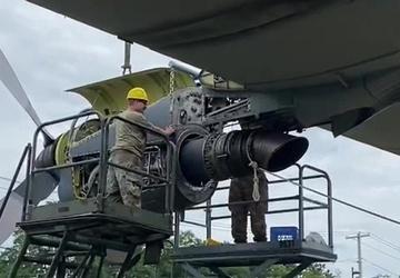 NY Air National Guard gets historic HC-130 aircraft at its front gate