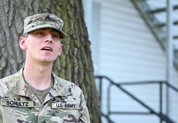 Task Force McCoy Soldier discuss his role of OAW