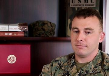 U.S. Marine Corps 1st Lt. Nicholas Buccarelli Sept. 11th rememberance video