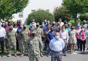 NAVFAC Washington Change of Command Ceremony 2021
