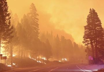 Nevada Guard assist California at Caldor Fire