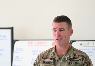Task Force McCoy Soldier discusses his role in OAW