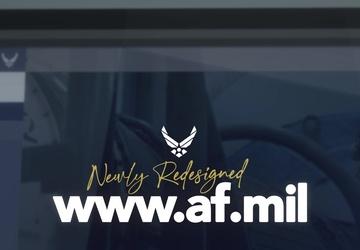 Newly Redesigned AF.mil