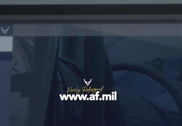 Redesigned AF.mil Promo