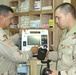 SSgt. Trahan and SSgt. McClinton conduct a function check