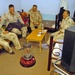 Soldiers shares a laugh with some Halabja DBE officers