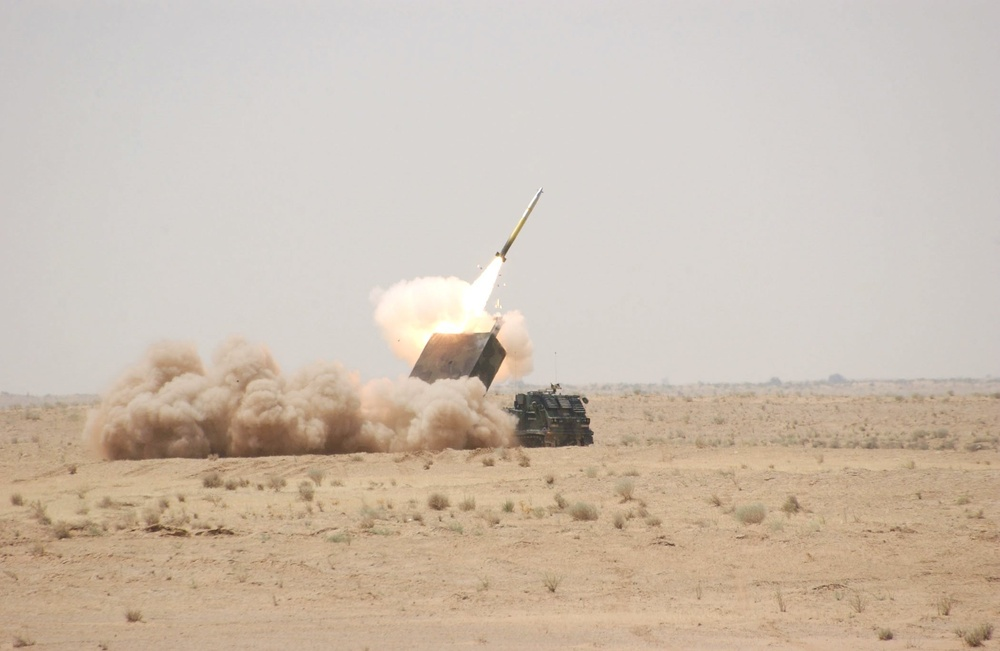 The Unitary-guided, Multiple-launch Rocket System: First Test-fire