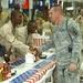 Top command sergeants major visit Iraq