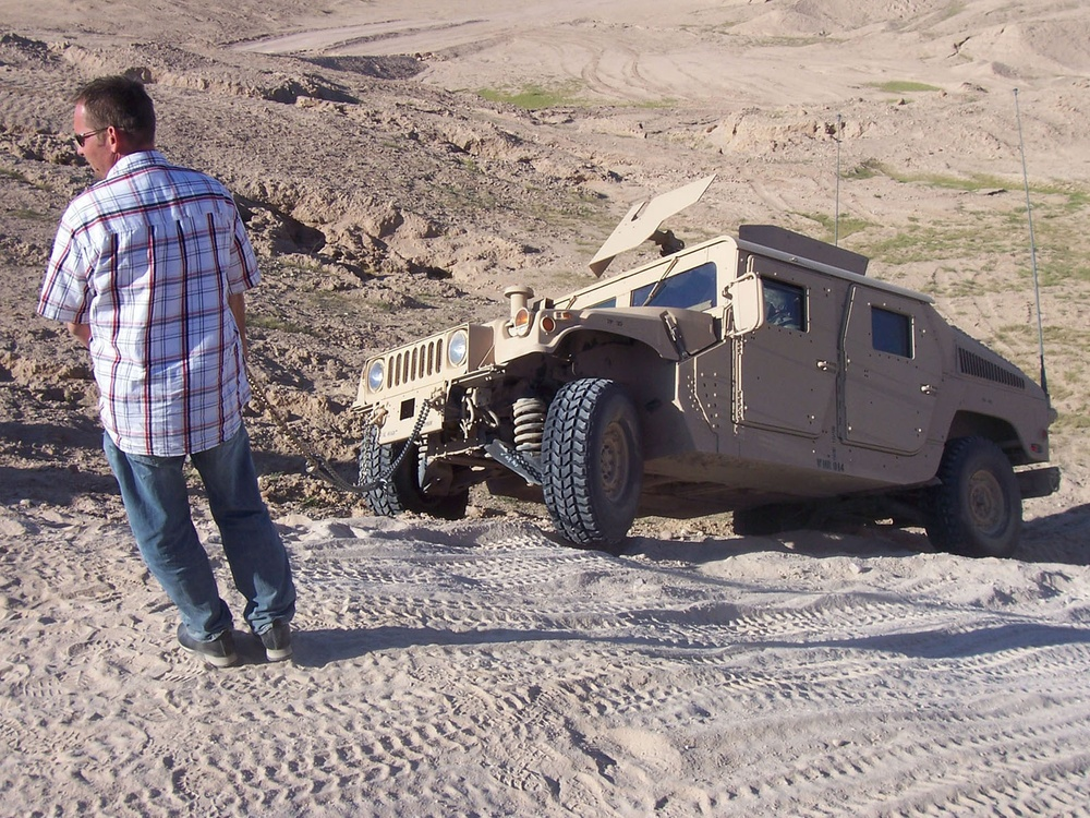 Making a Splash: New Humvee Driver Training Course Sending Troops to Iraq R