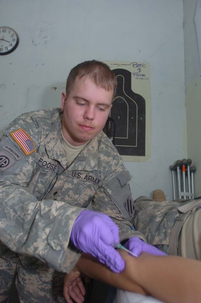 Medic reflects about time in service