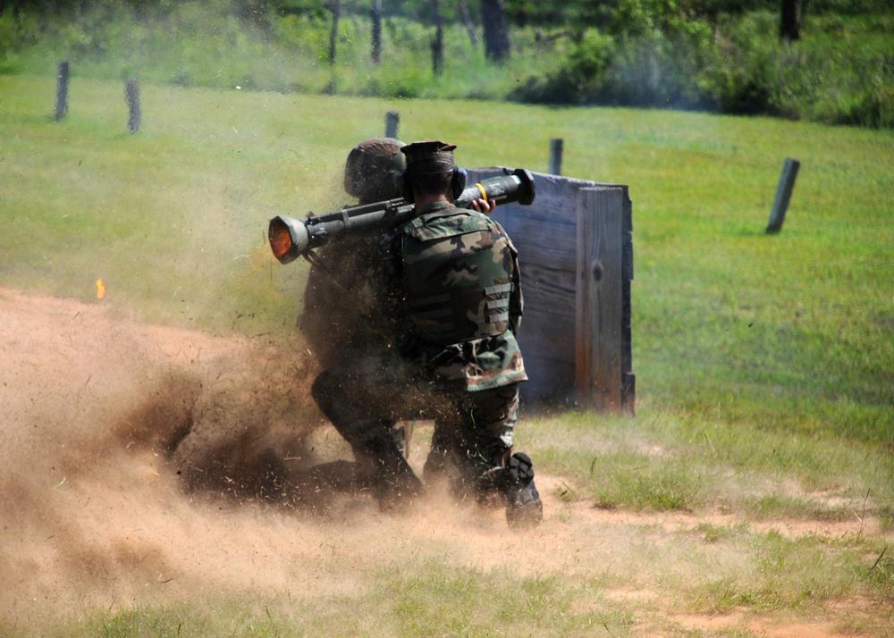 NMCB 7 prepares M203 grenade launchers