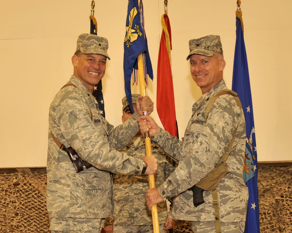 Sather Air Base welcomes new commander