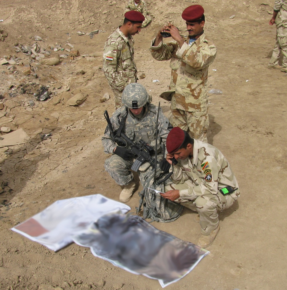 Iraqi Army displays Live Fire in Amarah