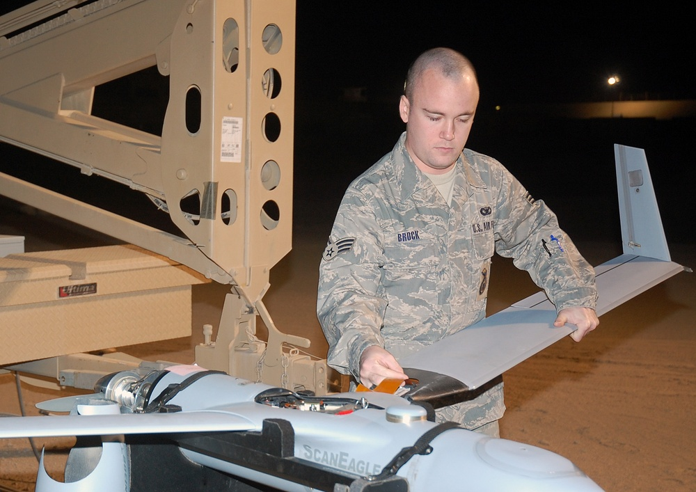 Enlisted flyers watch over Airmen ground forces