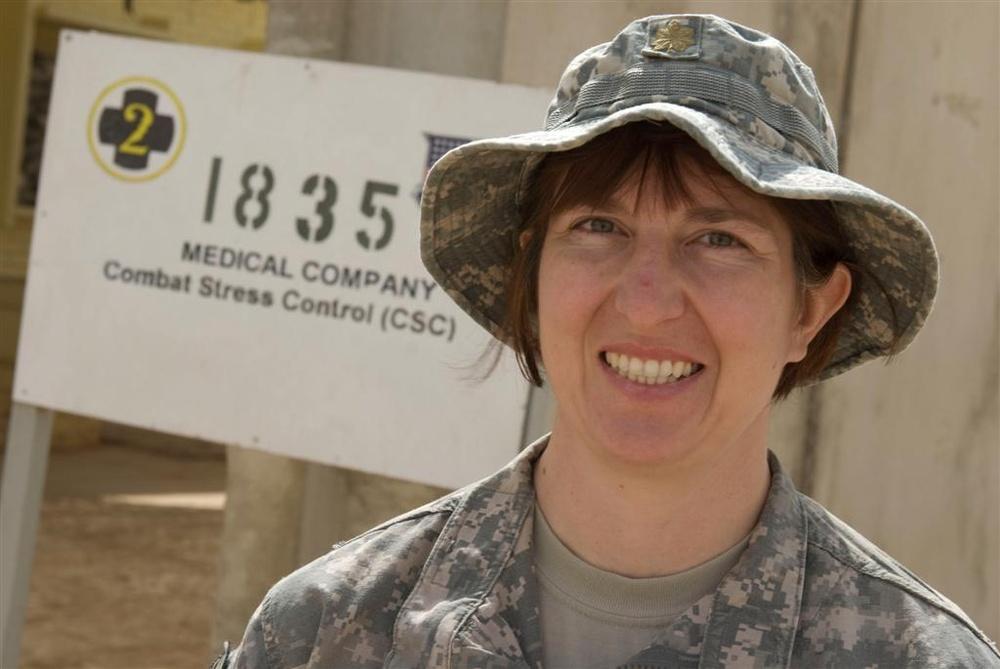 Medical Detachment Combats Stress