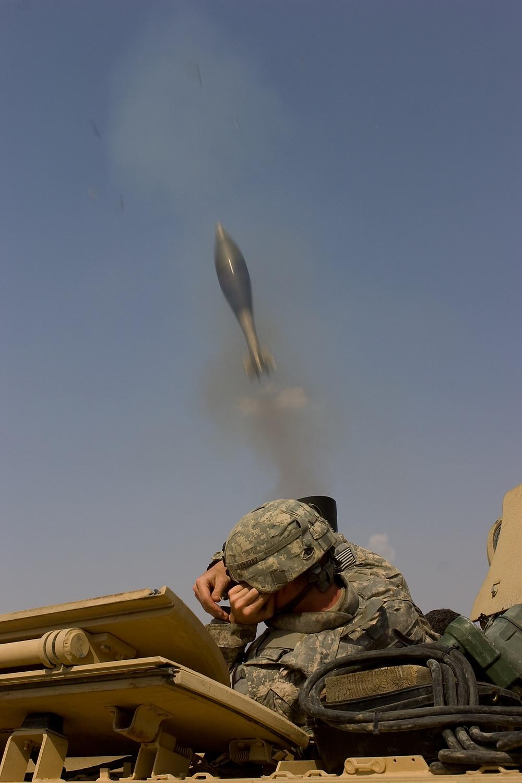 Combined Mortar Training