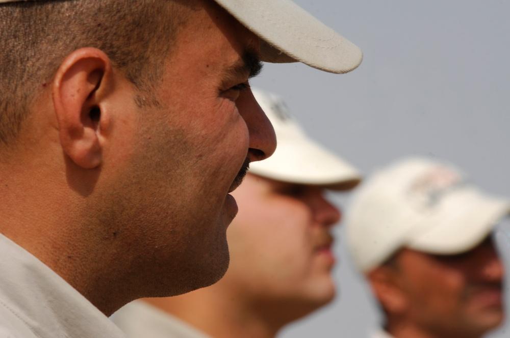 K-9 training at Forward Operating Base Echo