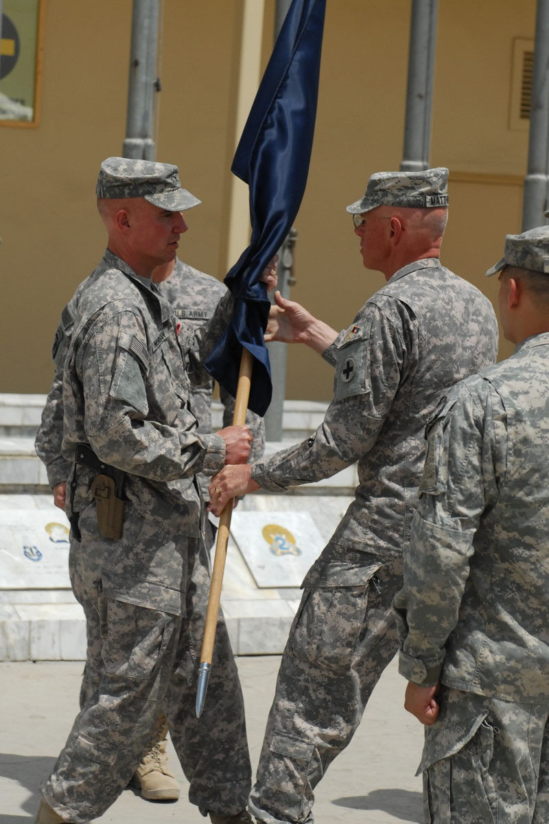 Afghan Regional Security Integration Command-Kabul Conducts Change of Command