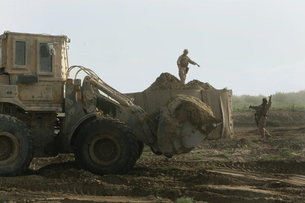 Marine Engineers Construct Major Fortifications in Helmand's Hostile Territory