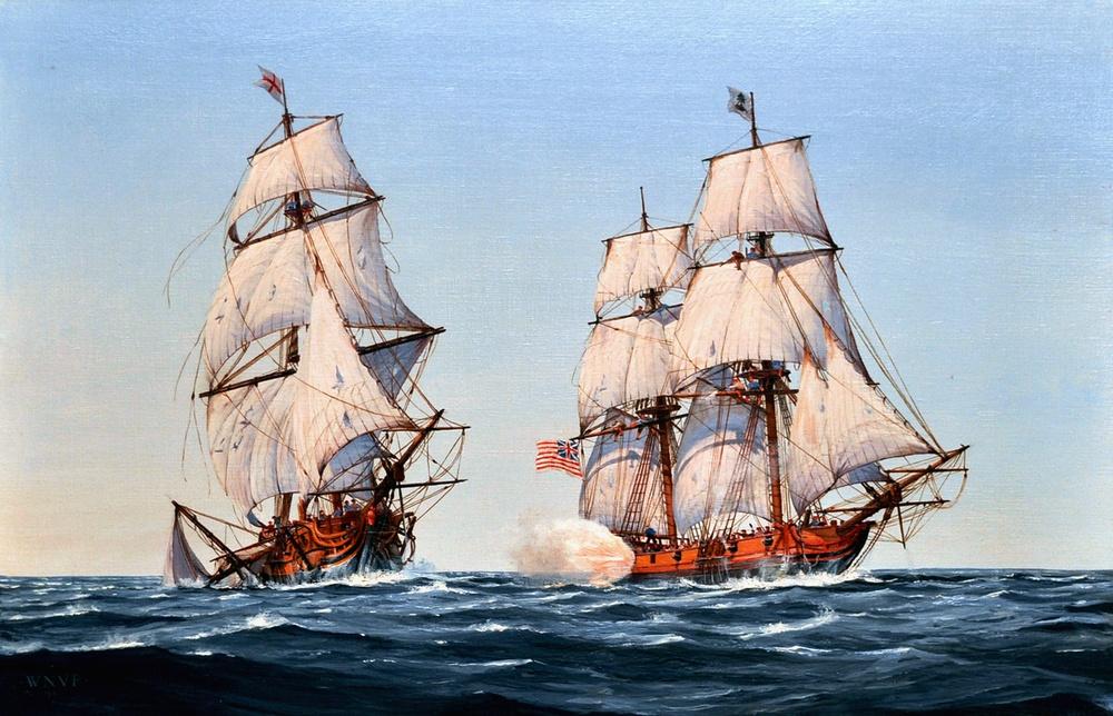 Navy Art Gallery painting