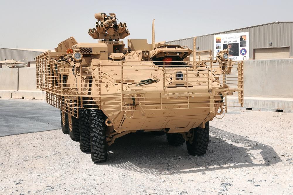 Strykers Adopt Desert Tan Color