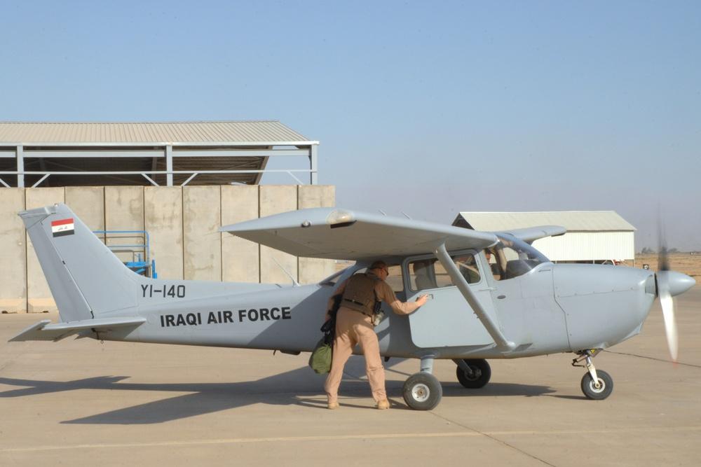 Solo Flights Exhibit Iraqi Student Pilots Flying Skills