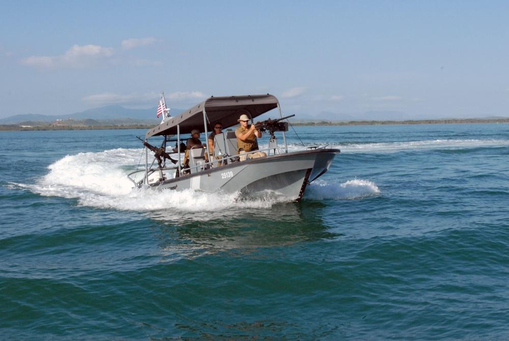 U.S. Coast Guard Patrols the Waters Around Joint Task Force Guantanamo